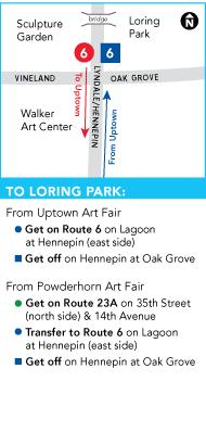 map of Loring