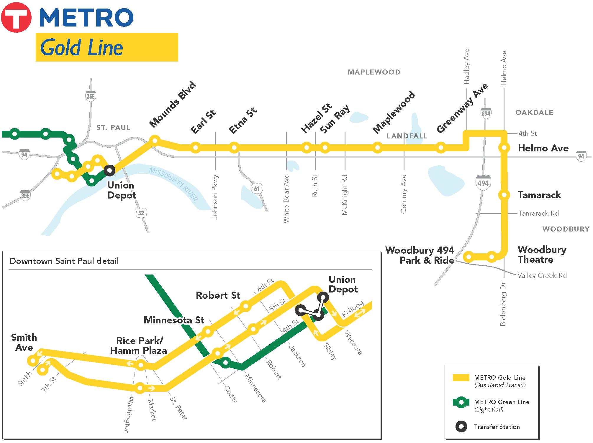 Gold Line Design And Engineering Metro Transit