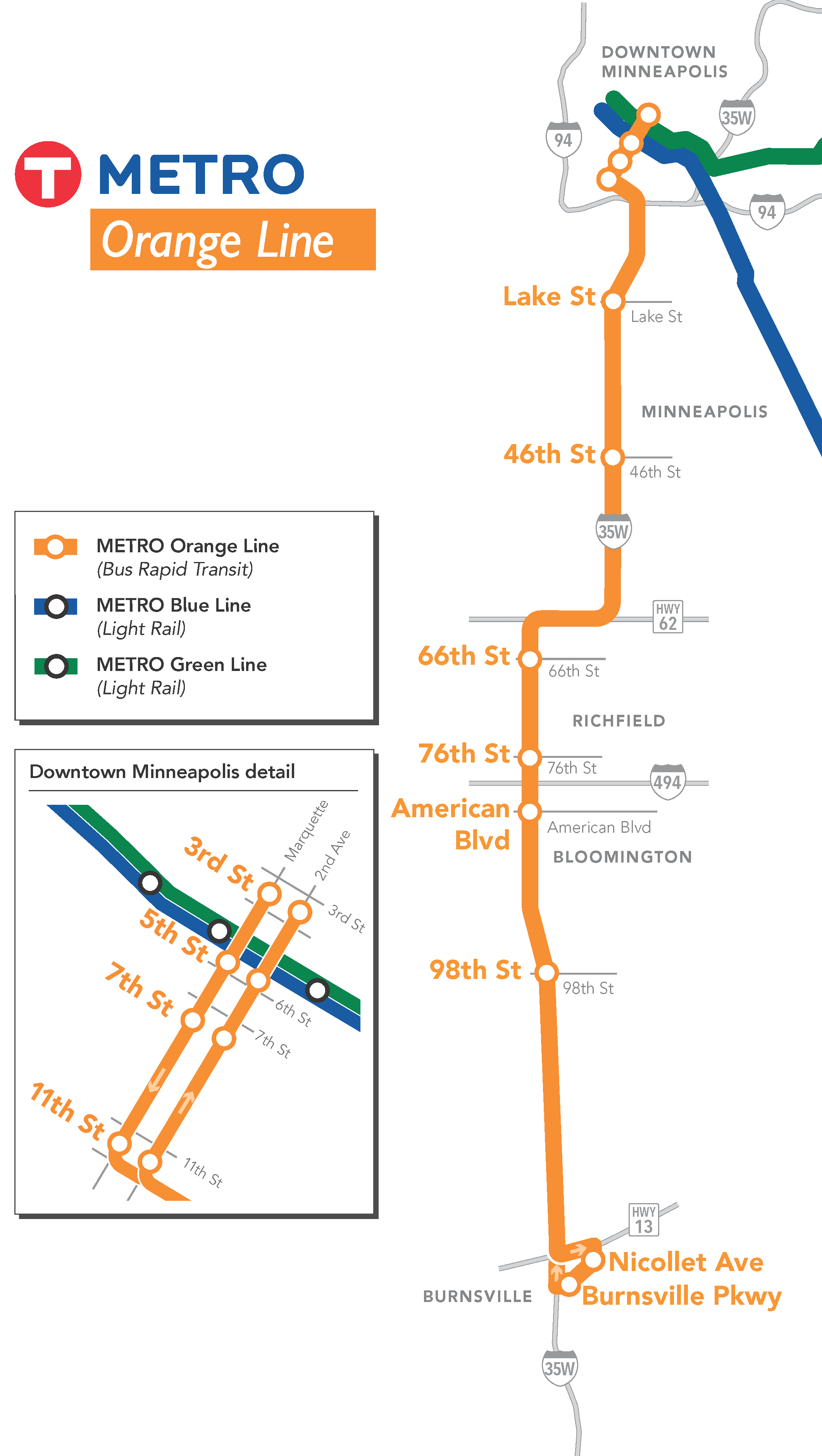 Orange Line Stations   Metro Transit