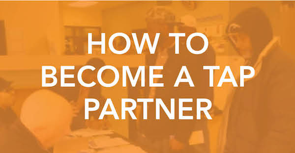 How to Become a TAP partner