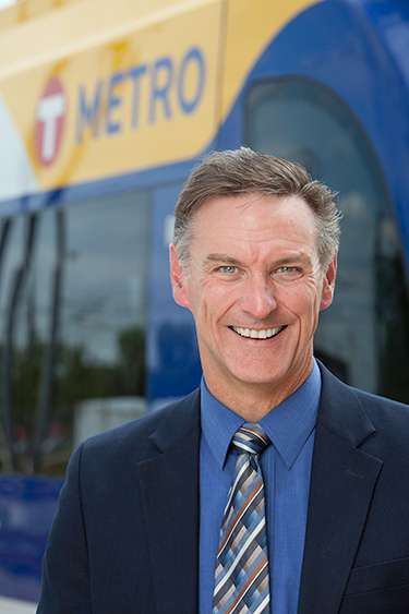 Metro Transit General Manager Brian Lamb.