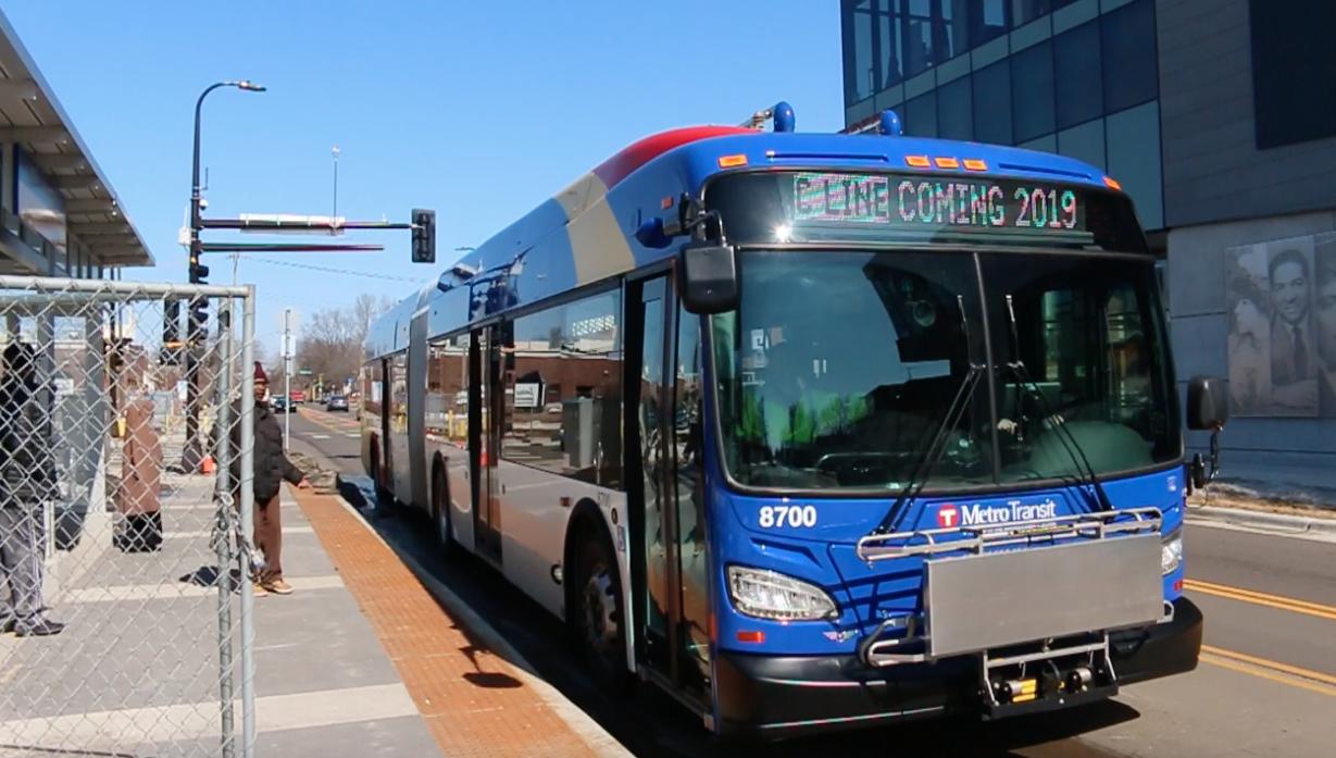 Electric Bus Put Through Paces In Metro C Line Corridor Metro Transit