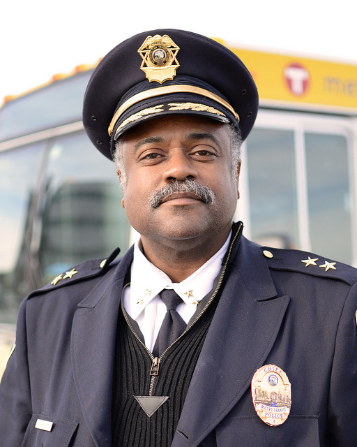 Metro Transit Police Chief John Harrington.