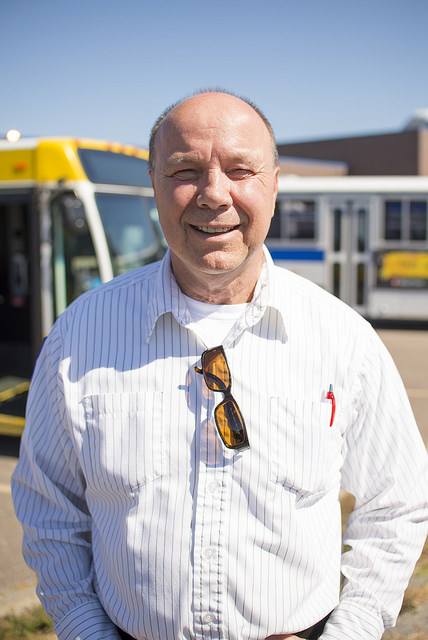 Jerry Olson, 2014 Minnesota Public Transit Association Bus Operator of the Year.