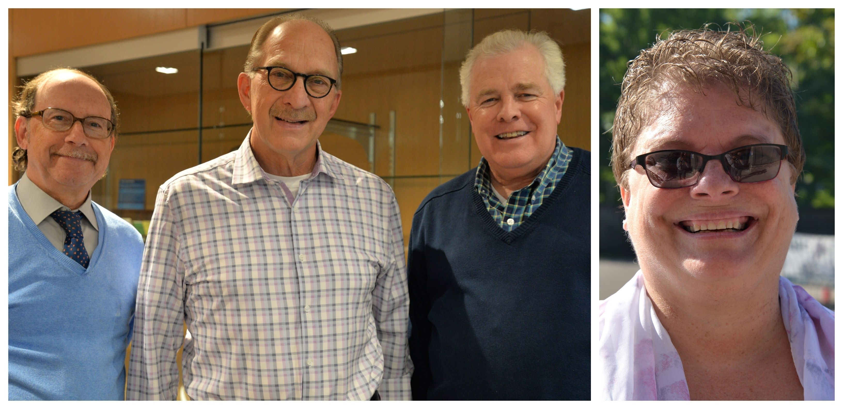 Senior Planners John Dillery, Steve Mahowald and Scott Thompson, who shared a Distinguished Career Award; recently retired operator Theresa Collins, who was named Minnesota Bus Operator of the Year.