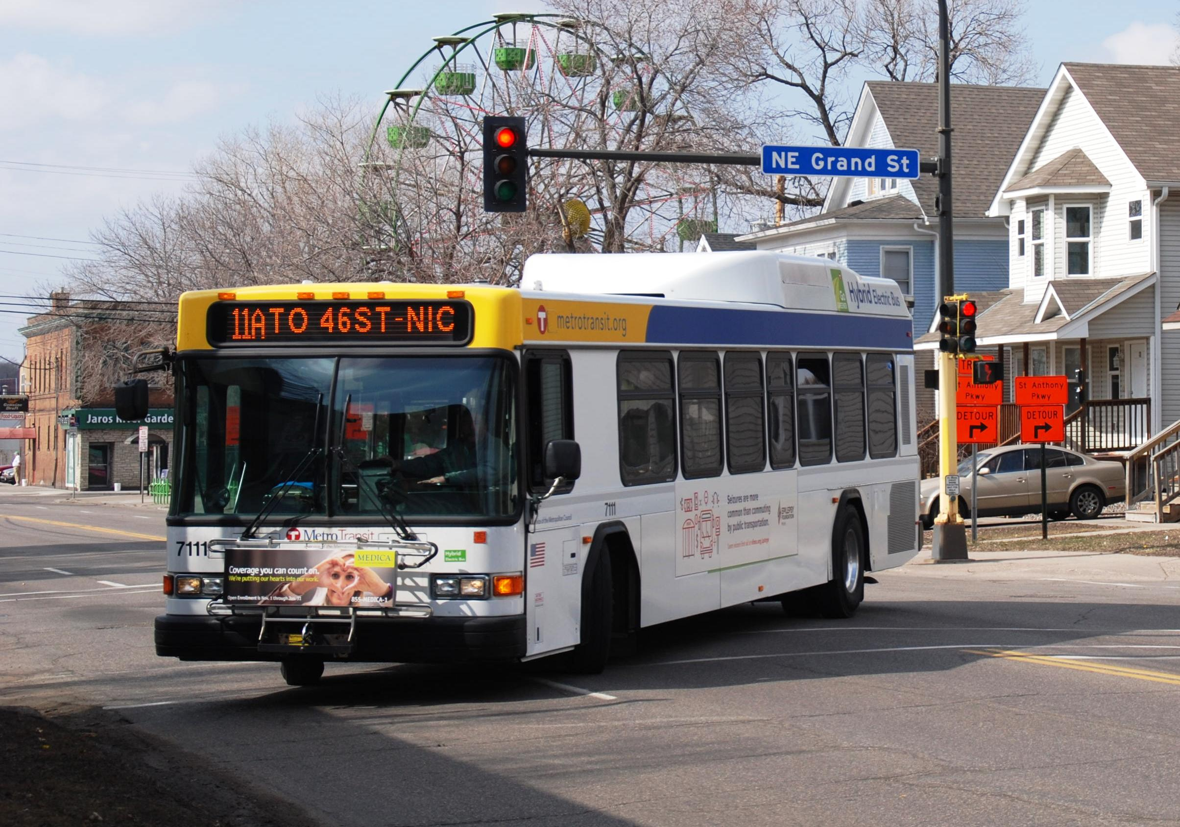route 11 joining hi-frequency network - metro transit
