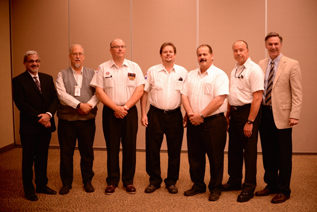 Metro Transit operators at the Ovations Awards Ceremony on Wednesday, June 26, 2014.