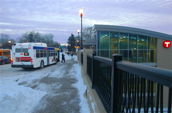 photo transit center winter