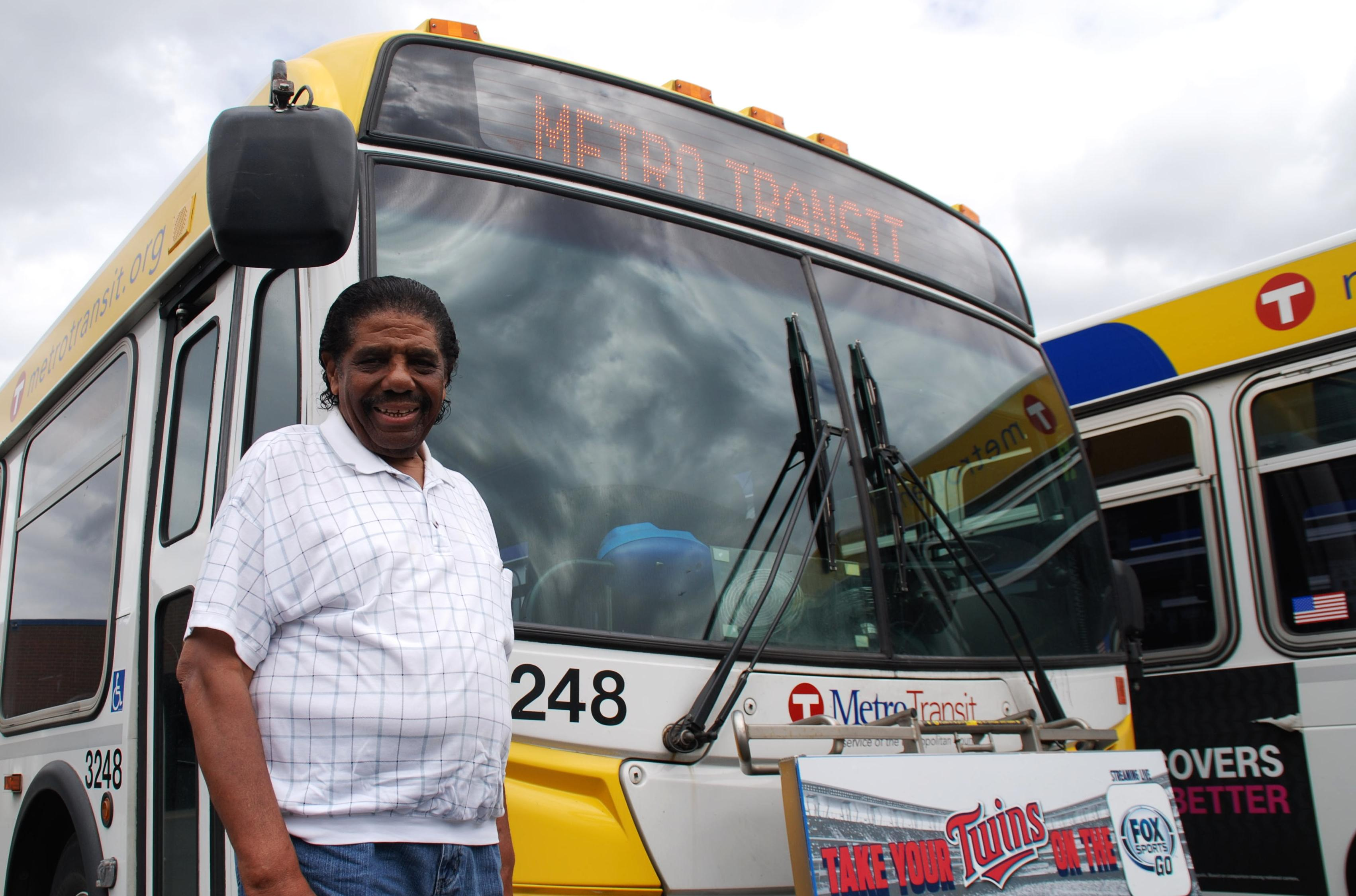 Sy Sharp retired in early-2016 with more than 52 years of service in Metro Transit's Bus Maintenance department.