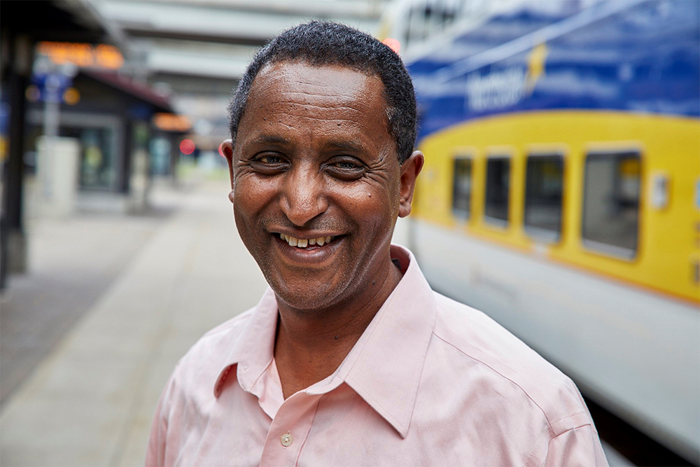 Tensaie Umeta is a Senior Account Specialist at Metro Transit.