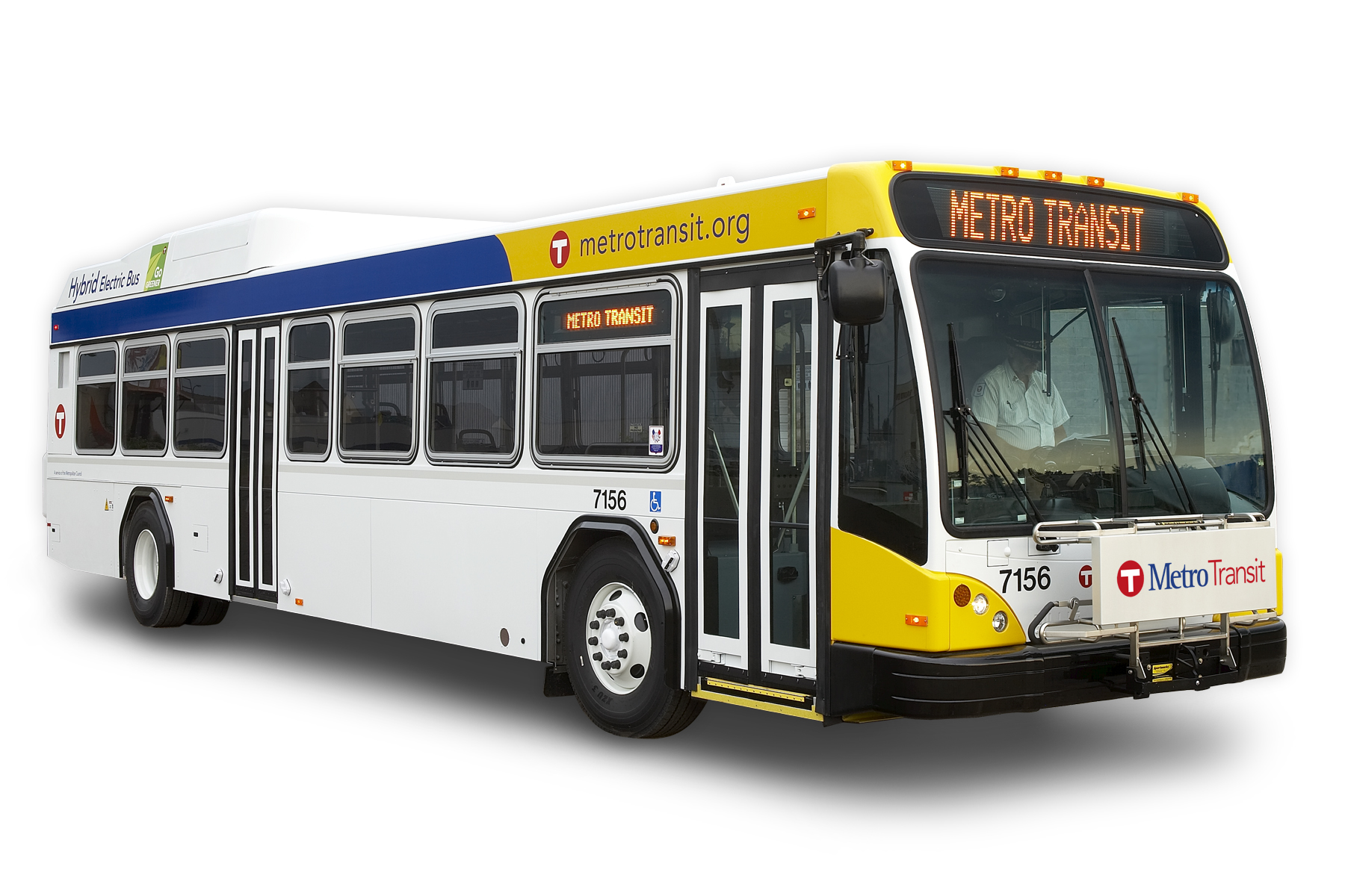 Metro Transit Introduces Hybrid Electric Buses To East