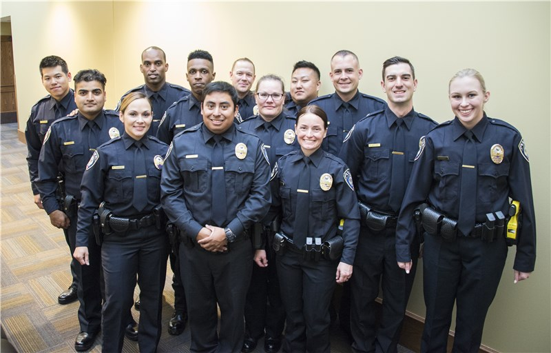 New class of MTPD officers reflects diversity of transit