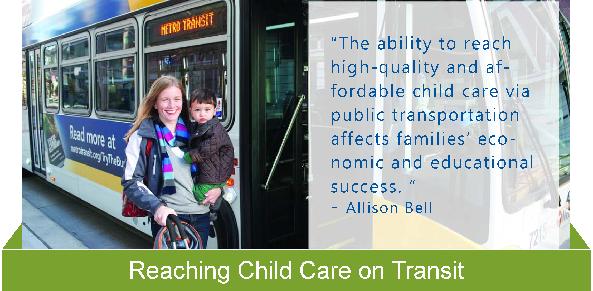 Reaching Childcare via Transit Equity in Action sheet
