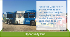 Opportunity bus Equity in Action sheet