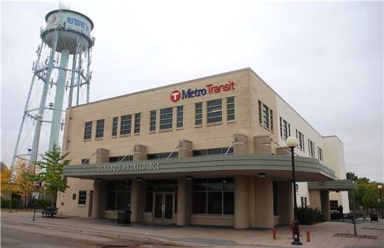 Robbinsdale Transit Center Metro Transit