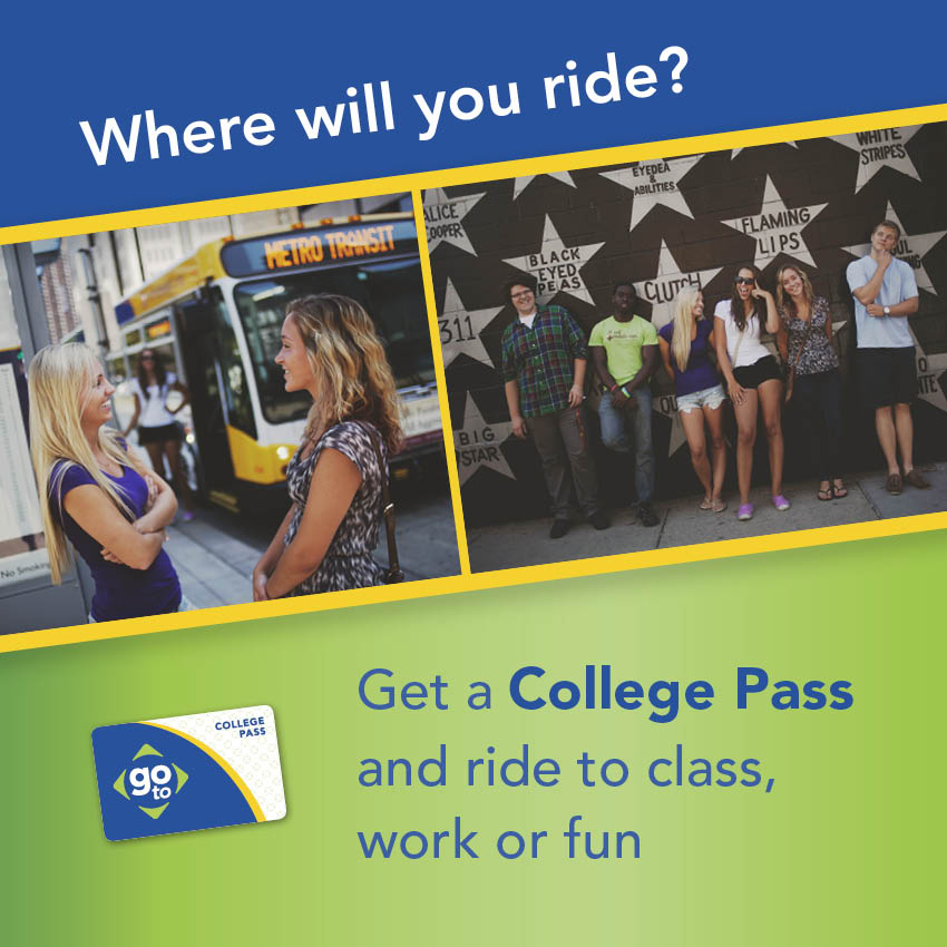 College Pass ad