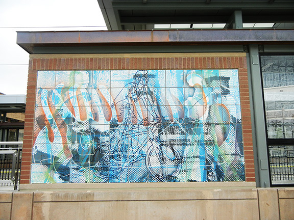 Stadium Village Station Art