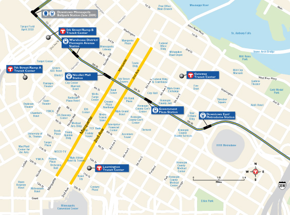 Marquette and 2nd Avenue Expansion Map