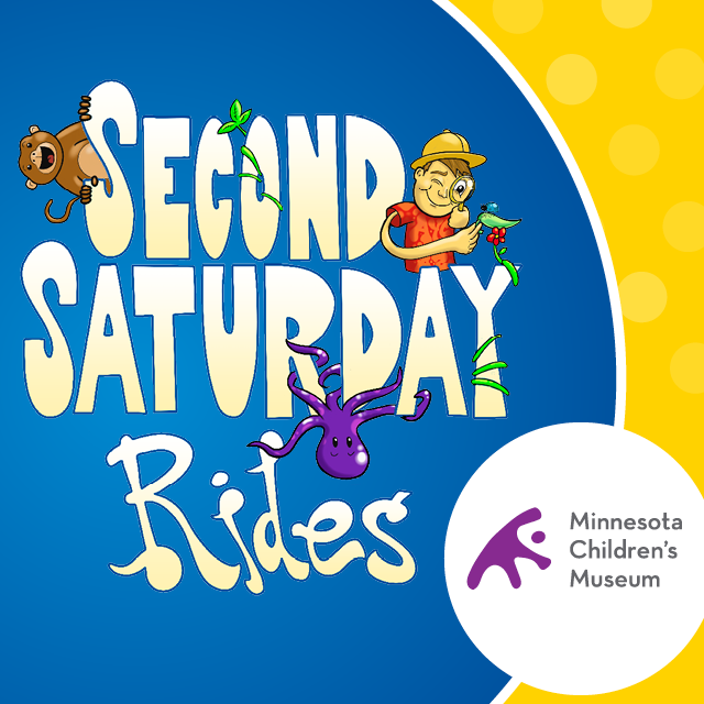 Second Saturday Rides at the Minnesota Children's Museum