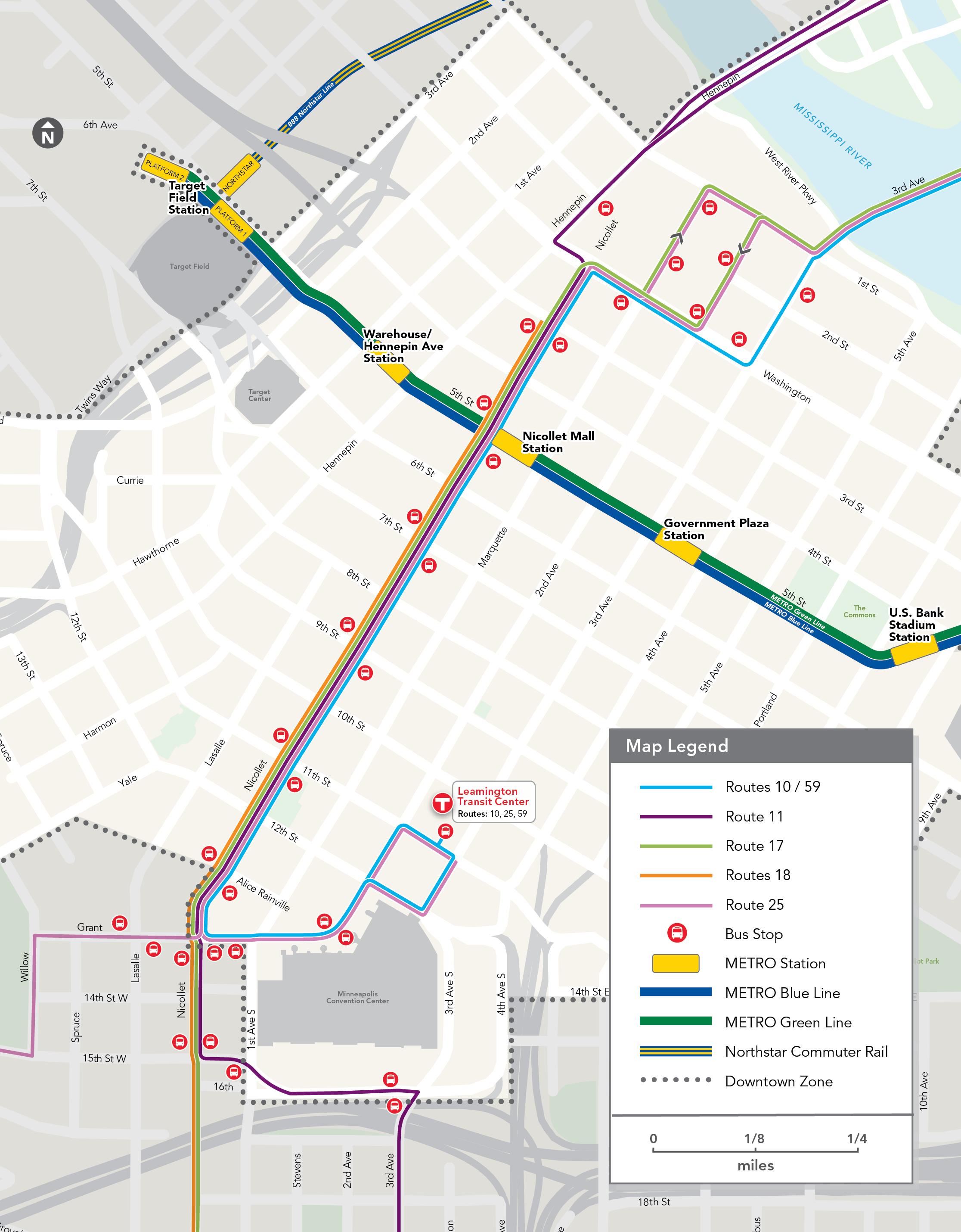 nicollet mall - metro transit