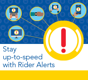 Subscribe to Rider Alerts
