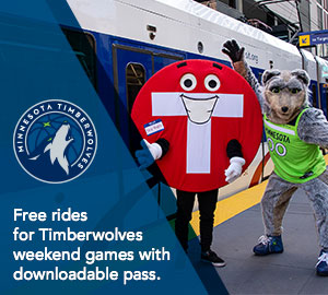 Free rides for Timberwolves weekend games with downloadable pass.