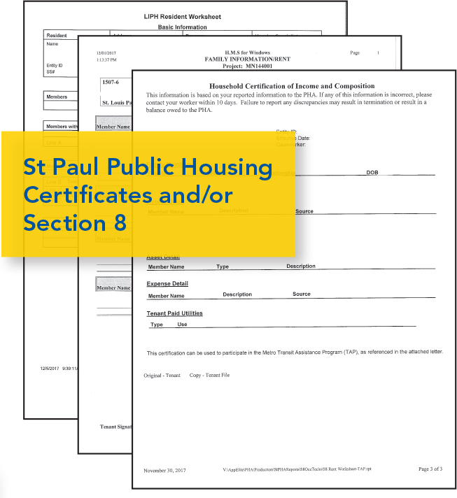 Image of St. Paul Housing: Public Housing and/or Section 8