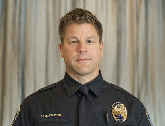 Photo of Officer Michael Holtmeier